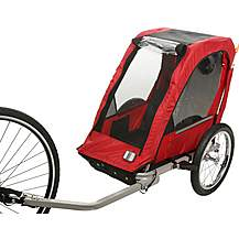 image of Halfords Single Child Bike Trailer