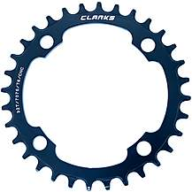 image of Clarks Standard Narrow/Wide Tooth Chainring 9-11 Speed 38T
