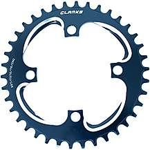 image of Clarks Lightweight Pro Narrow/Wide Tooth Chainring, 9-11 Speed 34T