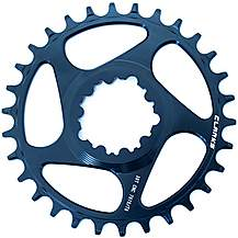 image of Clarks Lightweight Pro Narrow/Wide Tooth Chainring, 9-11 Speed 30T D