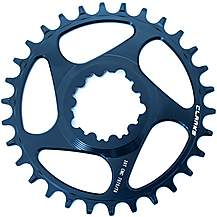 image of Clarks Lightweight Pro Narrow/Wide Tooth Chainring, 9-11 Speed 32T Direct