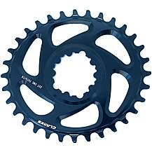 image of Clarks Lightweight Oval Pro Narrow/Wide Tooth Chainring, 32T Direct