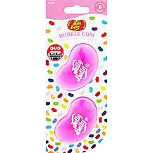 image of Jelly Belly Duo Mini Air Freshener - Fresh Bubblegum