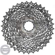 image of Shimano Deore XT CS-M770 9 Speed Cassette 11 - 34T