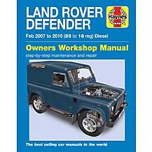 image of Haynes Land Rover Defender Diesel (07-16) Manual
