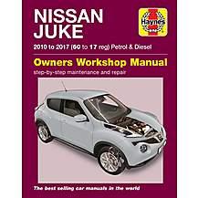image of Haynes Nissan Juke Petrol and Diesel (10-17) Manual