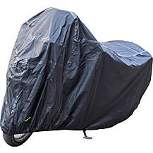 image of Halfords Premium Motorcycle Rain Cover