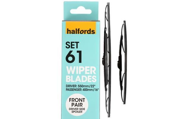 Halfords set 61 wiper blades fron halfords set 61 wiper blades front pair freerunsca Gallery