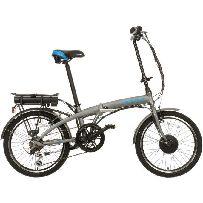 Apollo Transport Electric Folding Bike 20 Wheel Halfords Uk
