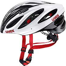 image of Uvex Boss Helmet - White/Black