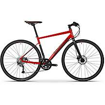 Boardman HYB 8.6 Hybrid Bike - Red