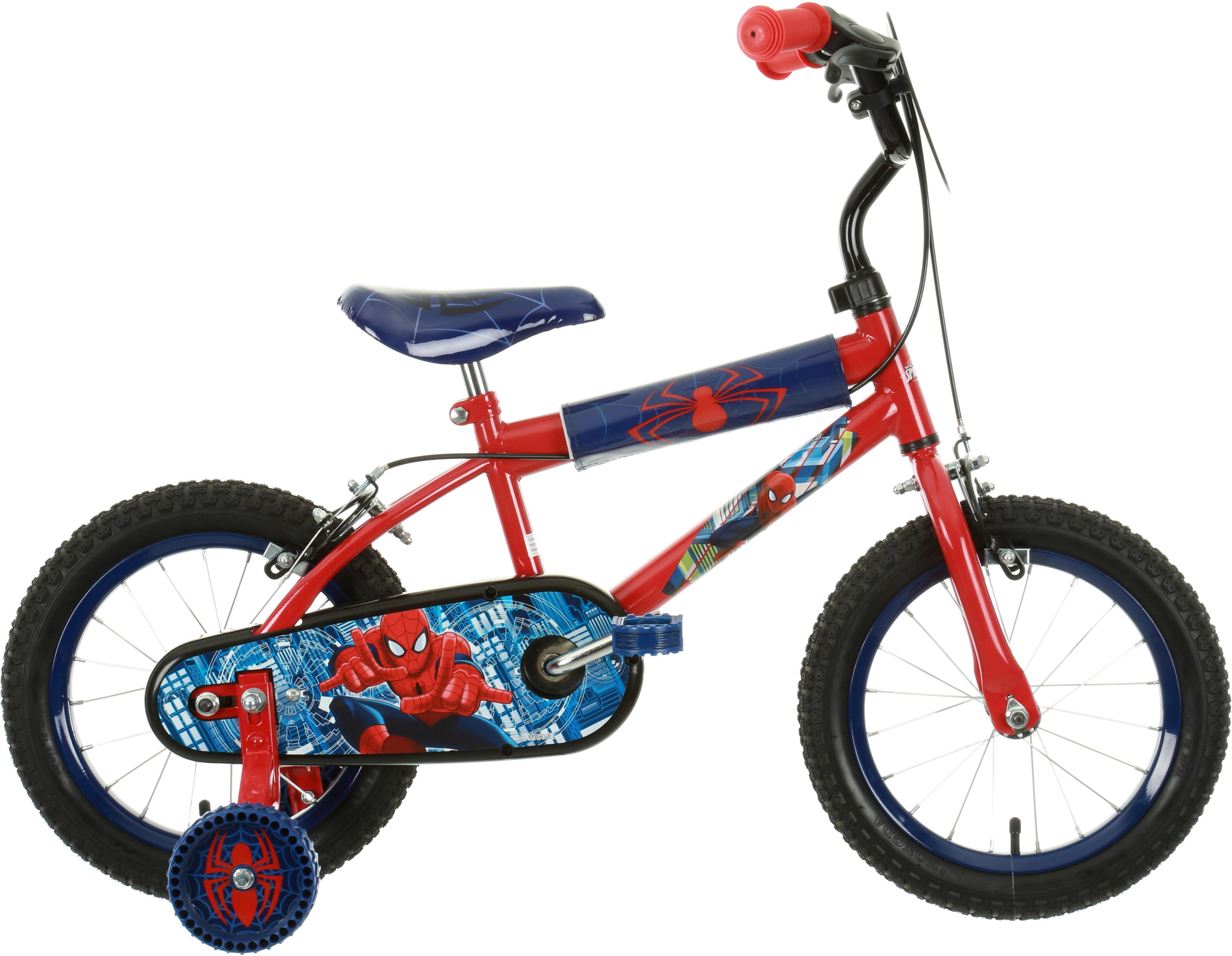 Ultimate Spiderman Kids Bike - 14 inch Wheel