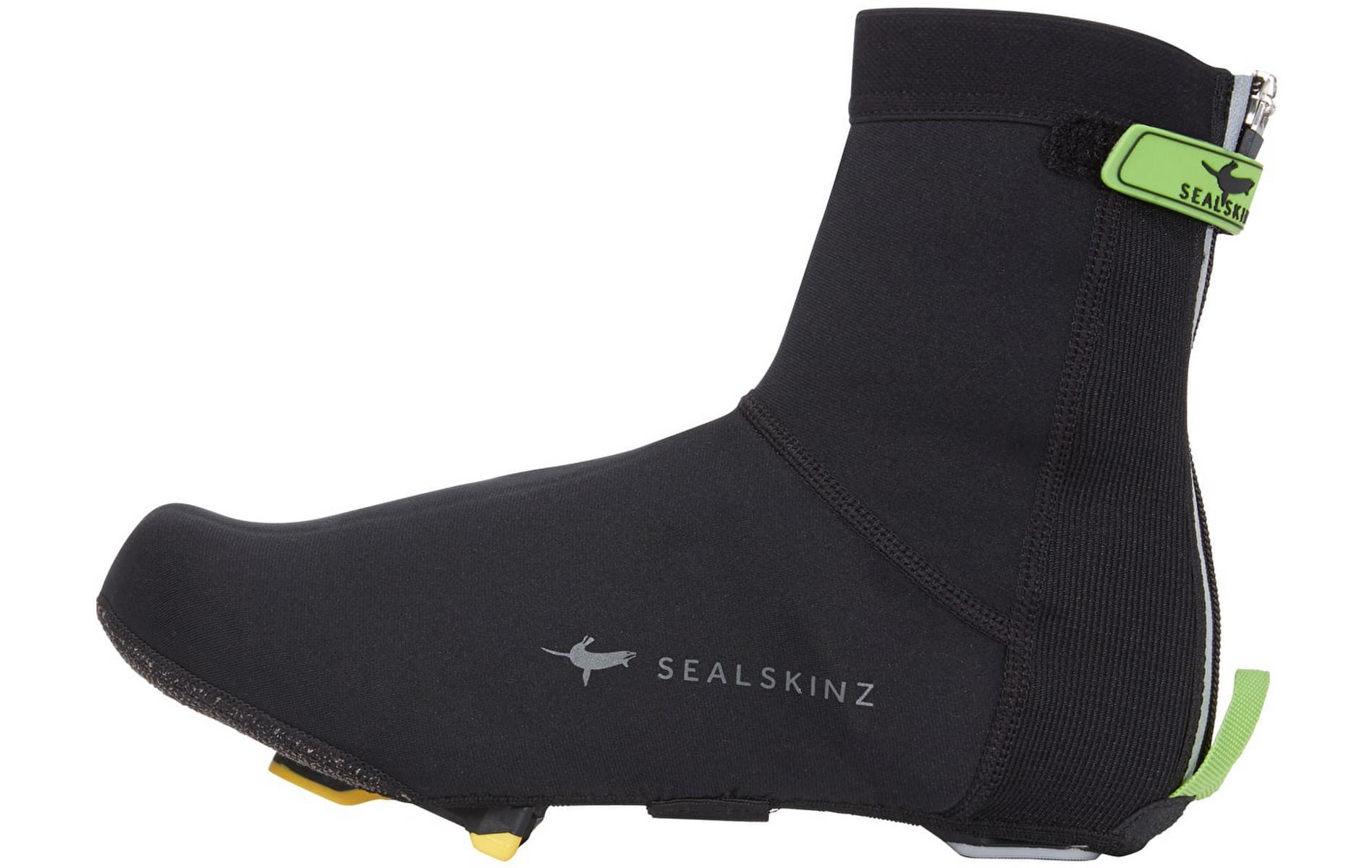 Sealskinz Neo Open Overshoes, Black, L