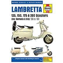 image of Haynes Lambretta 125, 150, 175 & 200 Scooters Repair Manual