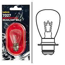 Halfords Bike it Motorcycle Bulb HMB7027 12v