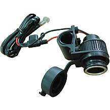 image of Halfords Weatherproof 12V Motorcycle Socket