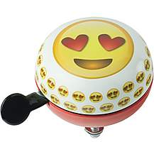 image of Emoji Smiling Face with Hearts Bike Bell