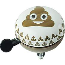 image of Emoji Smiling Poo Bike Bell