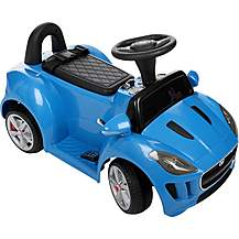 image of Jaguar F-Type Electric Ride On Car in Blue