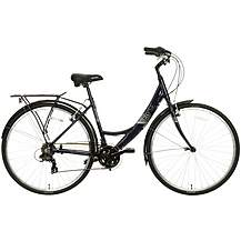 "image of Apollo Elyse Womens Hybrid Bike - Navy - 16"", 18"" Frames"