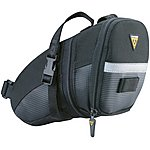 image of Topeak Aero Wedge Saddle Bag - With Strap