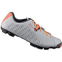 image of Shimano XC5 Cycling Shoe - Grey/Orange