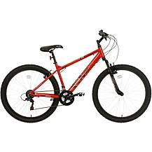 Apollo Phaze Mens Mountain Bike- Red - 14