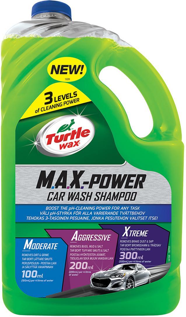 Turtle Wax Max Power Car Wash 2.95L
