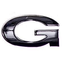 image of Chrome Letter Badge G
