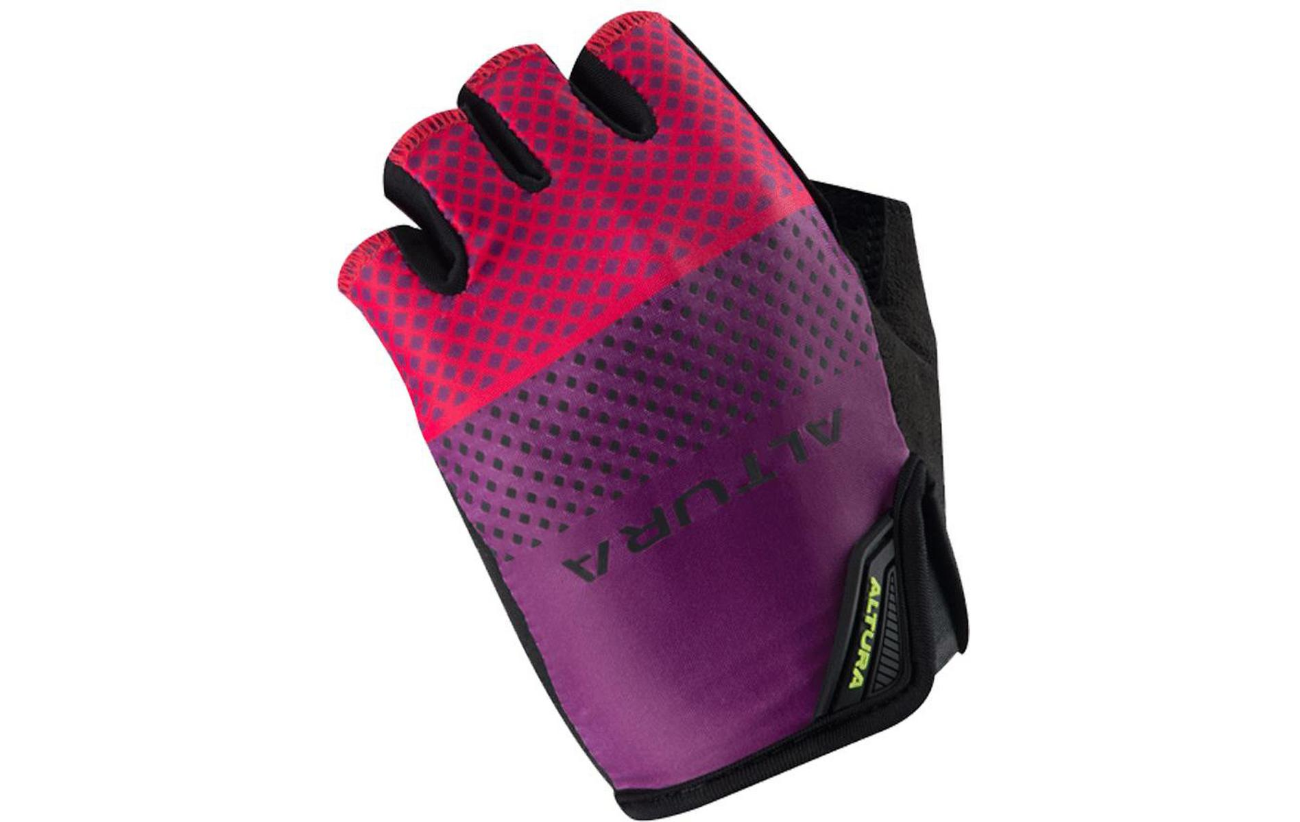 Altura Womens Progel 3 Cycling Mitts, Grape, S