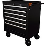 image of Halfords Advanced 6 Drawer Tool Cabinet - Black