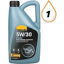 image of Halfords 5W30 Part Synthetic Ford Oil 2L