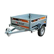 image of Erde 163 Car Trailer