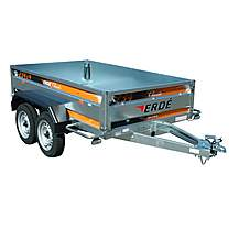 image of Erde 234x4 Braked Trailer