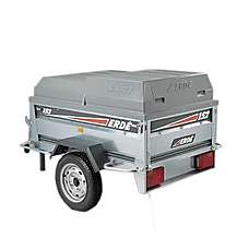 image of Erde ABS Hard Top Lockable Cover for Erde 142 Trailer