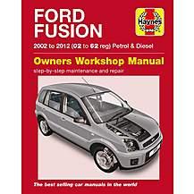 image of Haynes Ford Fusion Petrol & Diesel (02-12) Manual