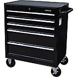 Halfords 5 Drawer Cabinet - Black
