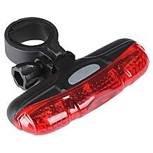image of Halfords Super Bright Rear LED Bike Light