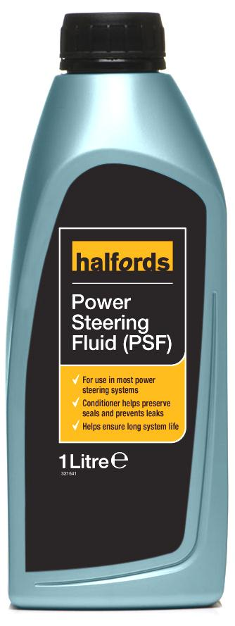 Halfords power steering fluid psf