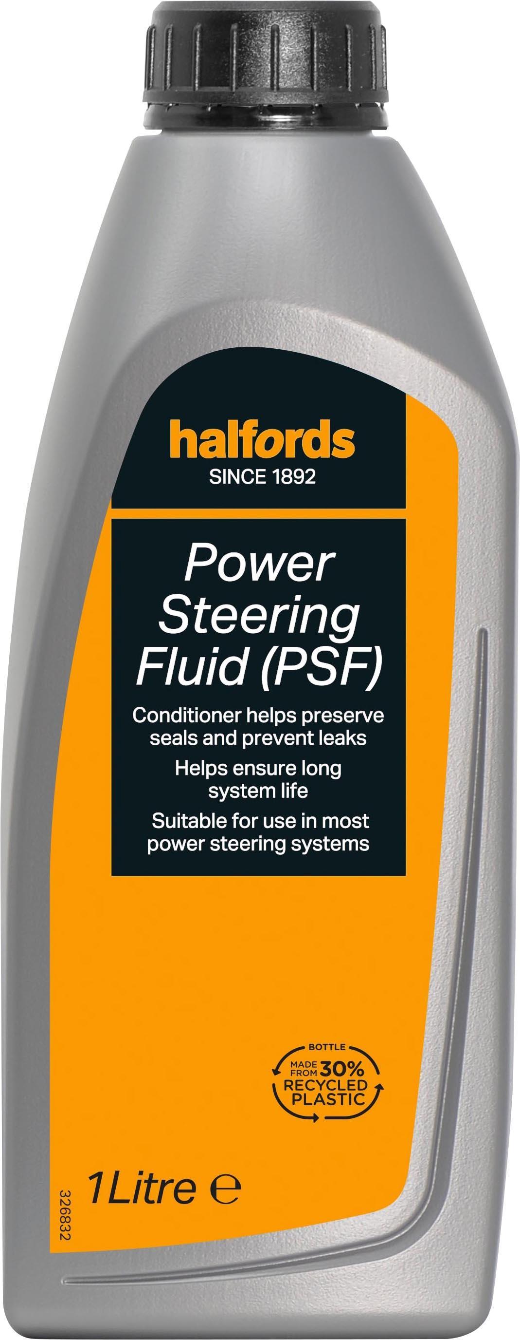 halfords power steering fluid (psf)  halfords power steering fluid (psf) 1l