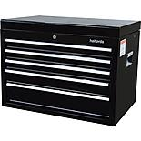 Halfords 5 Drawer Top Chest - Black