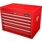 image of Halfords 5 Drawer Top Chest - Red