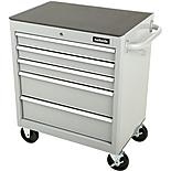 Halfords 5 Drawer Cabinet - Silver