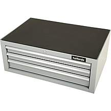 image of Halfords 3 Drawer Middle Chest - Silver