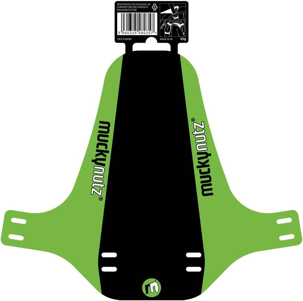 Mucky Nutz Face Fender, Green