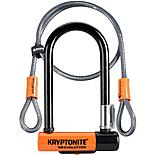 Kryptonite Evolution Mini 7 D-Lock With 4 Foot Kryptoflex Cable