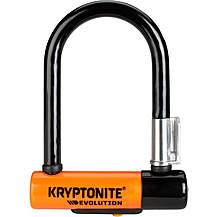 image of Kryptonite Evolution Mini 5 D-Lock with FlexFrame Bracket