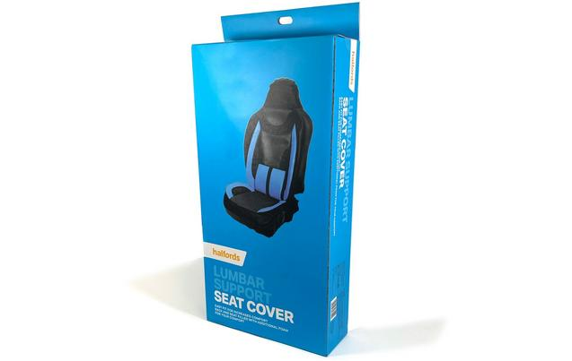 Halfords Lumbar Support Car Seat Cover