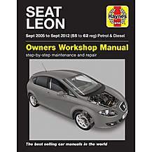 image of Haynes Seat Leon (Apr 05 - 12) Manual