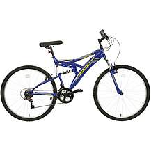 "image of Indi FS 1 Mens Mountain Bike 18"" Frame"